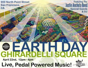 JAB at Earth Day SF – Ghirardelli Square.