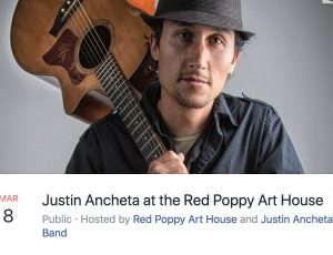 Justin Ancheta Band News : March 2018